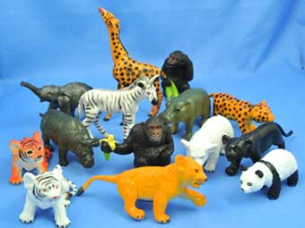 Zoo animals toys - photo#24